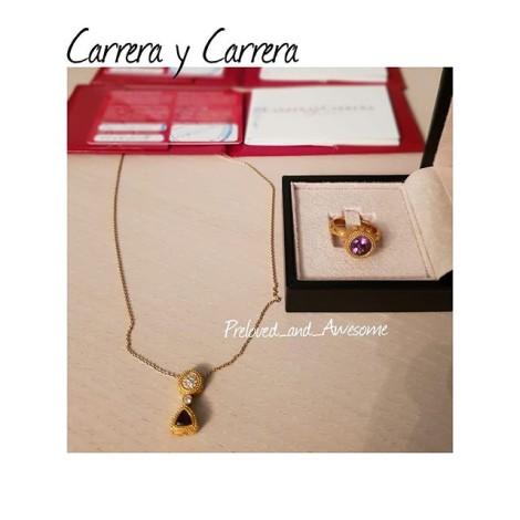 Кольцо и подвеска Carrera y Carrera