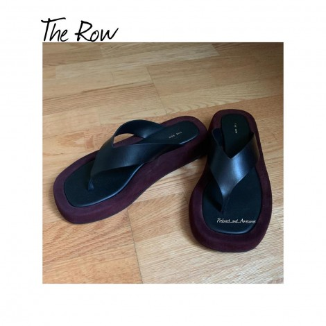 Шлепанцы The Row