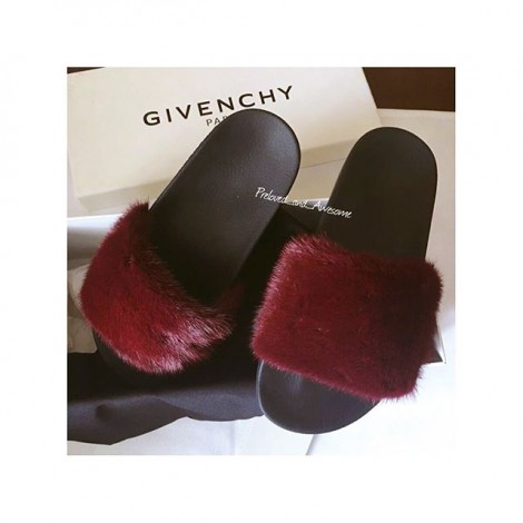 Шлепанцы Givenchy
