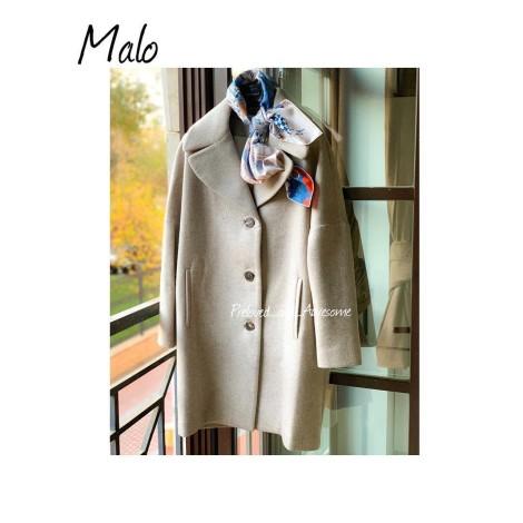 Пальто-кокон Malo