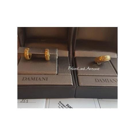Кольцо и серьги Damiani