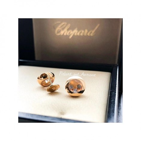Серьги Chopard Happy Diamonds