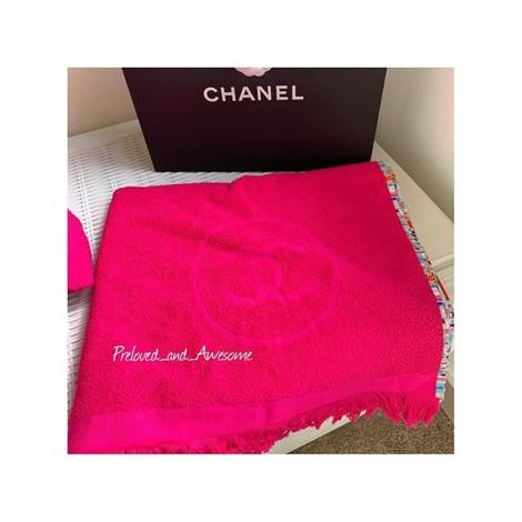 Пляжное полотенце Chanel
