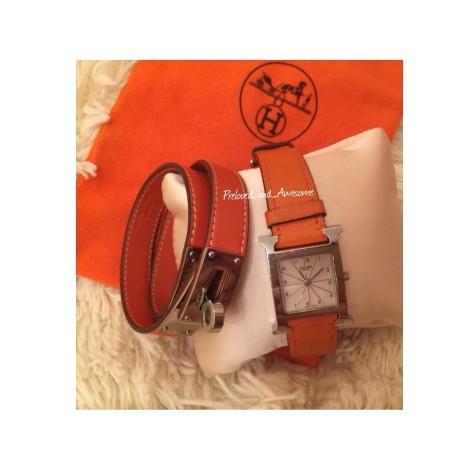 Часы и браслет Hermes