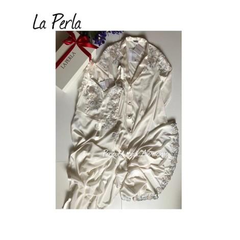 Халат и сорочка La Perla